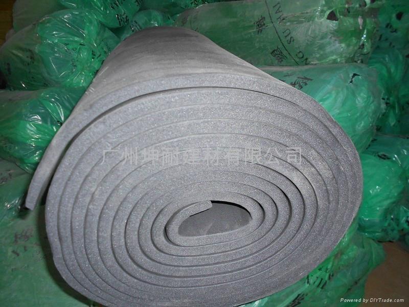 橡塑海绵 石家庄保温隔热橡塑棉管道隔热保温环保材料 1