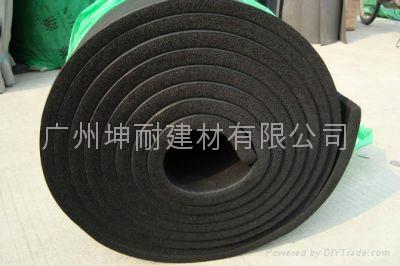 橡塑海绵 石家庄保温隔热橡塑棉管道隔热保温环保材料 2