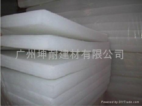珠海市环保吸音绵 纯白色聚酯纤维棉 B级阻燃 家装专用 2