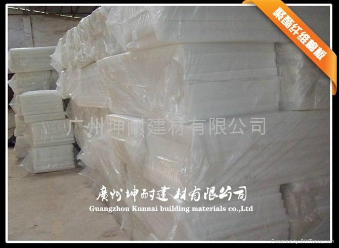 珠海市环保吸音绵 纯白色聚酯纤维棉 B级阻燃 家装专用 4