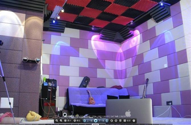 25mm布艺吸音板 厂家吸音软包 广州软包吸音板 2