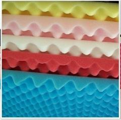 High effective egg-shape acoustic foam panel,decorate sound-absorbng sponge