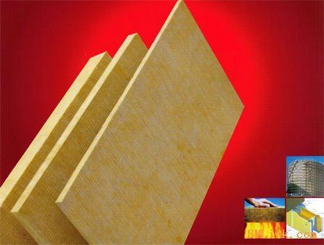 A级防火岩棉板 80KG/50MM岩棉 广西岩棉板 1