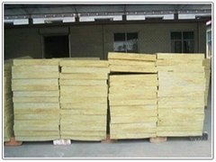 factory sound insulation board made from rock wool and fireproof