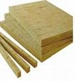 75KG/M3high density rock wool board for