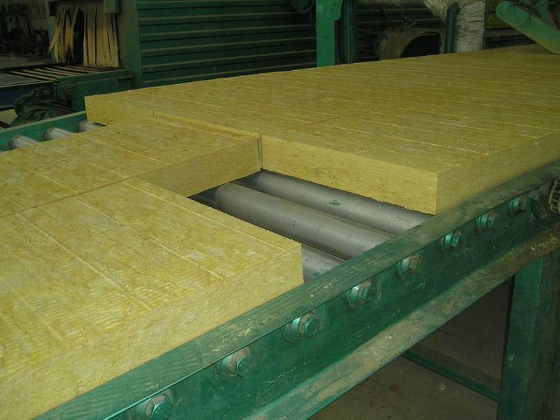 75kg m3high density rock wool board for house heat Wool house insulation