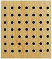 15MM hole wooden acoustic board,wooden acoustic ceiling 1