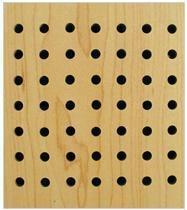 9MM孔木吸音板 600*600*15MM孔木吸音隔音材料