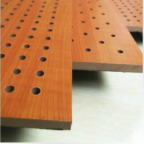 15MM hole wooden acoustic board,wooden acoustic ceiling 2