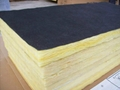 80KG/50MM glass wool board with black