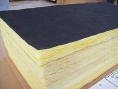 80KG/50MM棉板加工表面黑玻纤贴面 西安棉板