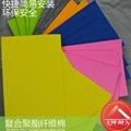 彩色聚酯纤维吸音棉,门窗,地板