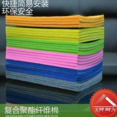 聚酯纤维吸音棉,机房厂房汽车吸音装饰棉