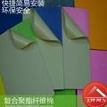 聚酯纤维吸音棉,机房厂房汽车吸音装饰棉 3