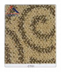Carpet, sound-absorbing carpets, hotel footpath, ground decorative board