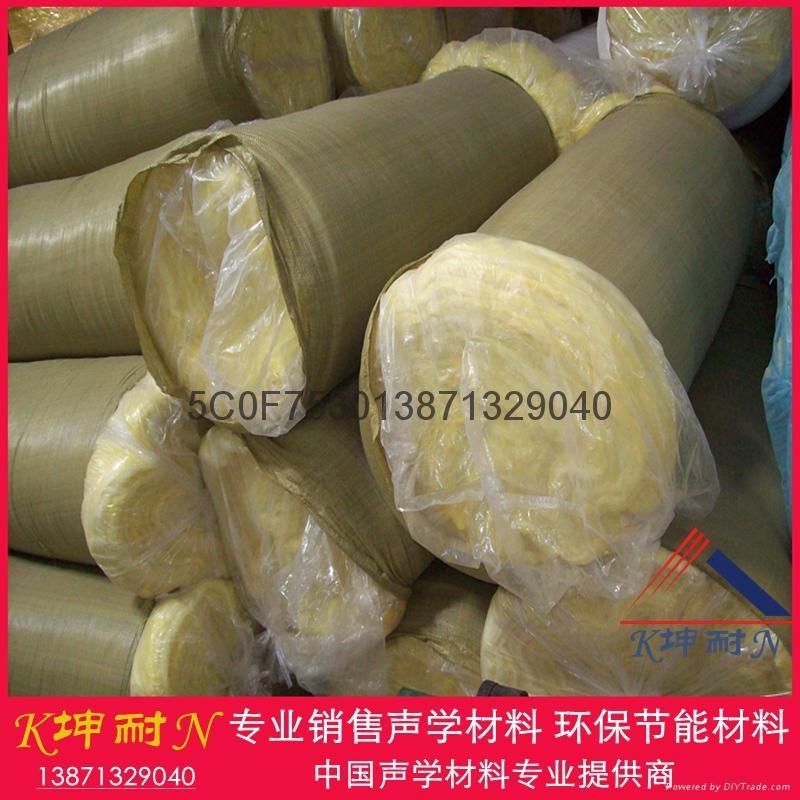 離心玻璃棉氈 隔熱棉 鋼結構隔熱材料 防火棉12kg50mm 5