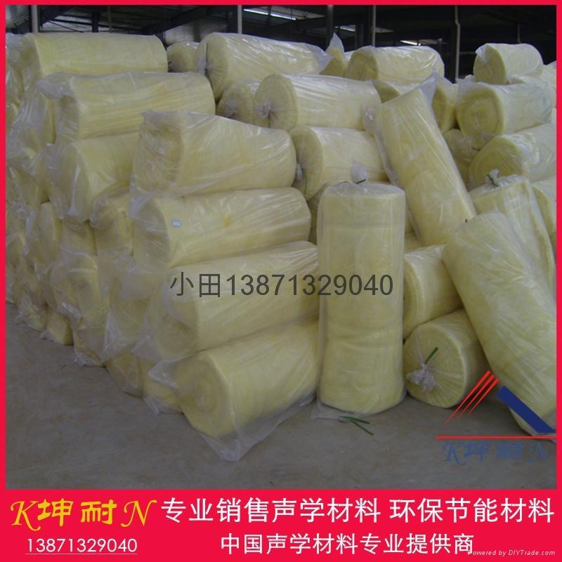 離心玻璃棉氈 牆體填充棉 武漢棉氈 武漢保溫材料16kg/50mm 4