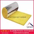 广州现货带铝箔玻璃棉毡12kg50mm吸音棉保温隔热材料 1