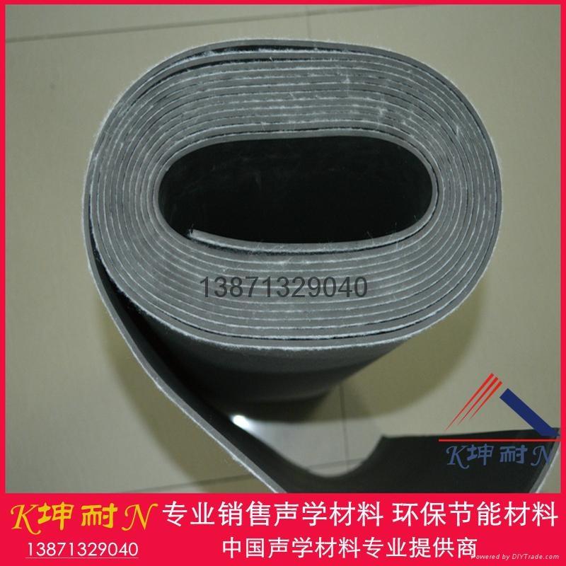 广州现货供应隔音毡2mm,包厢隔音房专用隔音材料 3