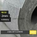 山东优质3mm隔音毡 地面吊顶墙体隔音胶 机房厂房ktv会议室隔音建材 2