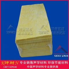 48kg/50mm玻璃棉板 坤耐吸音棉板 上海市玻璃棉板