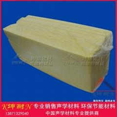 32KG/50MM玻璃棉板 1.2*0.6米西宁玻璃棉板屋顶夹层隔热材料