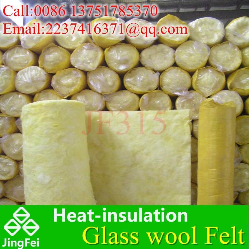 離心玻璃棉氈 隔熱棉 鋼結構隔熱材料 防火棉12kg50mm 1
