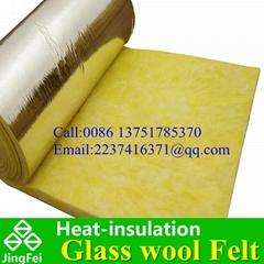广州供应玻璃棉毡 耐火吸音棉 隔音棉24kg50mm