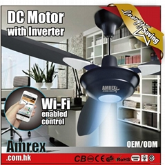 CEILING FAN WITH DC MOTOR