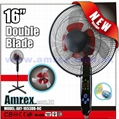"""16"""" STAND FAN WITH REMOTE CONTROL"""