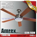"""52"""" Decorative Ceiling fan with DC Motor"""