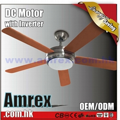 "52"" Decorative Ceiling fan with DC Motor"