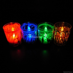 led蠟燭彩繪玻璃