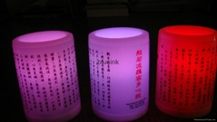 Led candle for The Heart Sutra