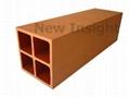 Wood plastic composite (WPC) pillar