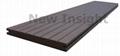 Wood plastic composite(WPC) plank 80×9