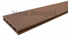 Wood plastic composite(WPC) decking 146 X 22