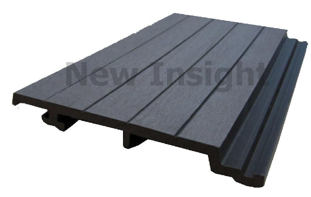 Composite Flooring Panels : Wood plastic composite wpc wall panel