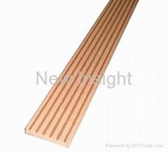 Wood plastic composite(WPC) plank 62 ×9