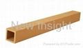Wood plastic composite(WPC) pillar 50×50