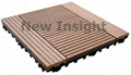 Wood plastic composite(WPC) decking tile