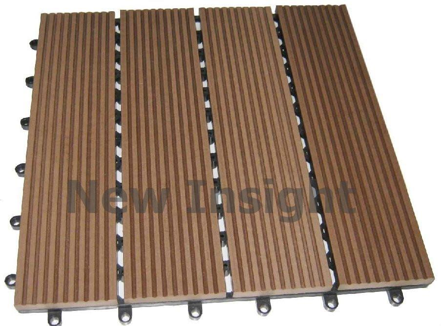 Wood Plastic Composite Wpc Decking Tile 305 305x 22