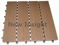 Wood plastic composite(WPC) decking tile