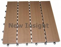 Wood plastic composite(WPC) decking tile 305×305X 22