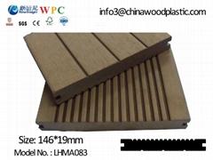 Plastic wood decking flooring, 149*20mm
