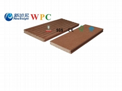 80*10mm WPC Wall Cladding with SGS, FSC, CE Certificate