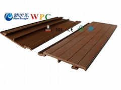 168*20mm Wood Plastic Composite Wall Cladding with SGS, FSC, CE Certificate
