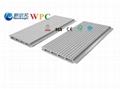 161*20 Wood Plastic Composite Wall Panel
