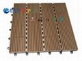 305*305*22mm Wood Plastic Composite DIY