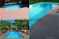 high strength eco-friendly composite  WPC deck 2